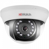 Купольная HD-TVI камера для помещений HiWatch DS-T201 (2.8 mm)
